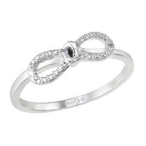Pavona Zlatý prsten 85001.1 bílé zlato