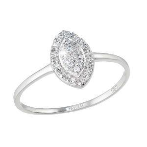 Pavona Zlatý prsten 85004.1 bílé zlato