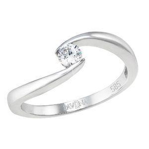 Pavona Zlatý prsten 85009.1 bílé zlato