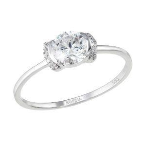 Pavona Zlatý prsten 85014.1 bílé zlato