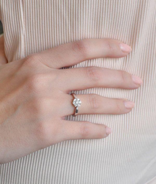 Pavona Zlatý prsten 85016.1 bílé zlato