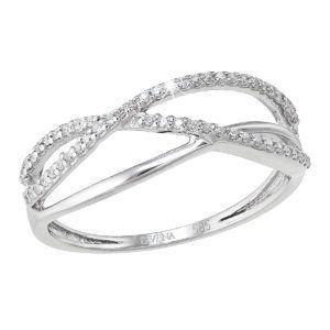 Pavona Zlatý prsten 85017.1 bílé zlato