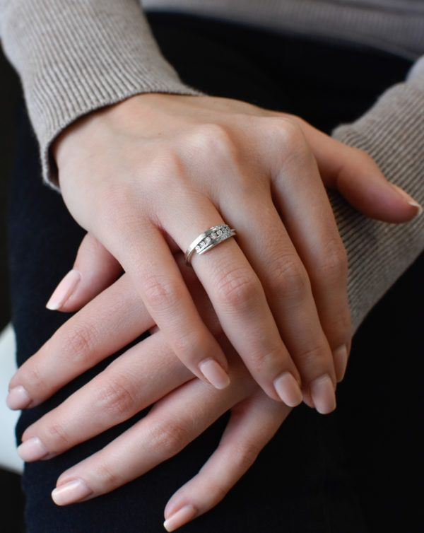 Pavona Zlatý prsten 85018.1 bílé zlato