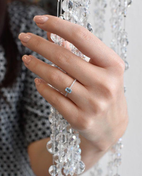Pavona Zlatý prsten 85020.3 bílé zlato