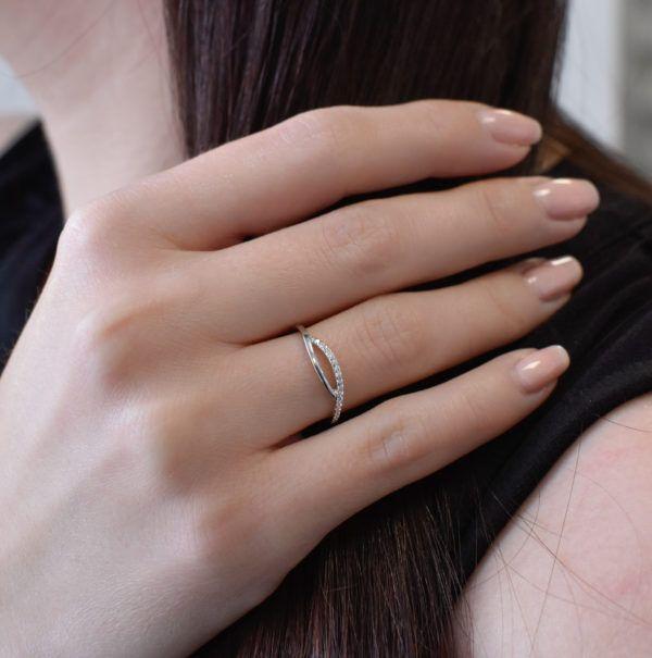 Pavona Zlatý prsten 85022.1 bílé zlato