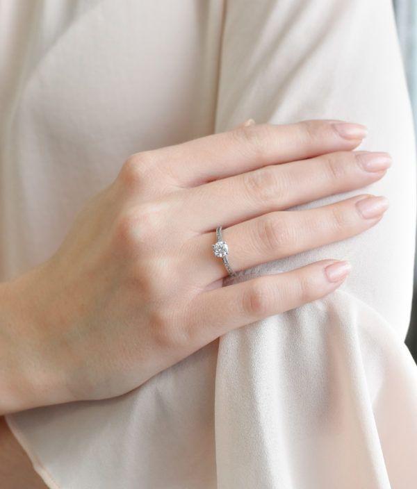 Pavona Zlatý prsten 85024.1 bílé zlato