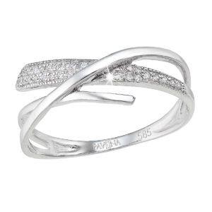Pavona Zlatý prsten 85026.1 bílé zlato