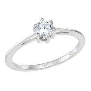 Pavona Zlatý prsten 85013.1 bílé zlato
