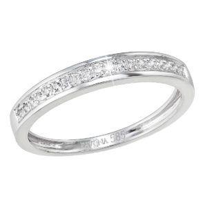 Pavona Zlatý prsten 85031.1 bílé zlato